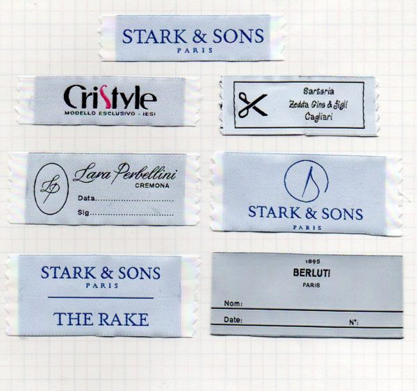 custom high definition woven labels
