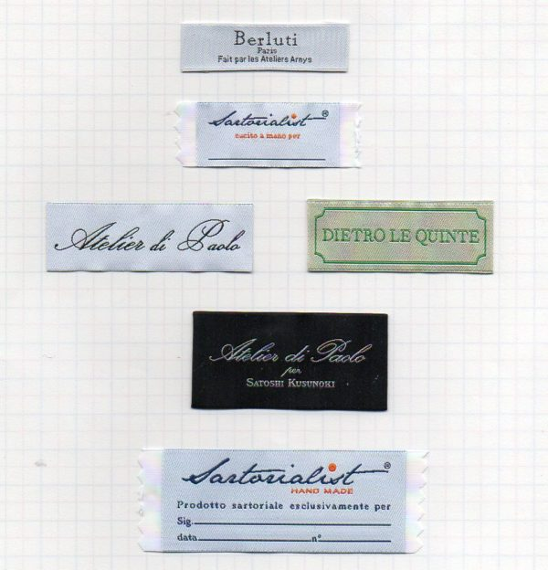 customized high definition woven labels