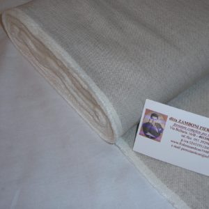 Wool mixed linen